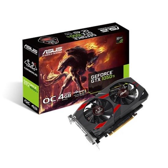 Immagine di Asus GeForce GTX1050TI Cerberus