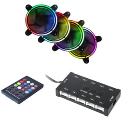 Immagine di CTesports Set Hyperon - Kit 4 ventole + controller + telecomando