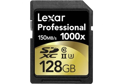 Immagine di Lexar Micro SDHC 128 GB Classe 10 UHS-3 1000x + reader - 932702