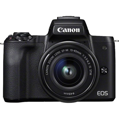 Immagine di Canon Eos M50 + EF-M 15-45 IS STM Black