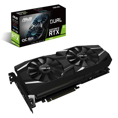 Immagine di Asus GeForce RTX2080 Dual O8G