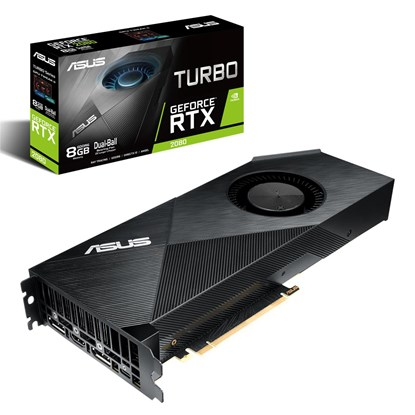 Immagine di Asus GeForce RTX2080 Turbo 8G