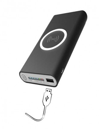 Immagine di Okko Powerbank 10000 mAh con ricarica Wireless/Usb
