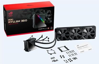 Immagine di Asus ROG Ryujin 360 AIO liquid CPU cooler