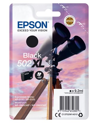 Immagine di Epson C13T02W14010 - Caruccia 502XL Binocolo nero
