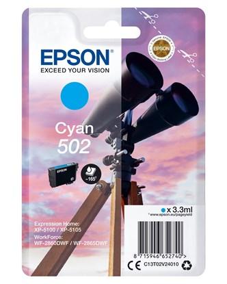 Immagine di Epson C13T02V24020 - Cartuccia 502 Binocolo ciano