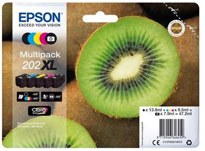 Immagine di Epson C13T02G74020 - Multipack 202XL Kiwi
