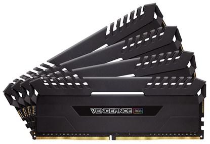 Immagine di Corsair Vengeance RGB 32GB (2x 16GB) DDR4, 3000MHz C15 nero CMR32GX4M2C3000C15