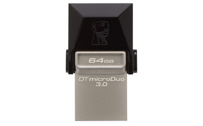 Immagine di Flash pen Kingston Data Traveler microDuo 64 GB - Usb 3.0 (DTDUO3/64GB)