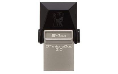 Immagine di Flash pen Kingston Data Traveler microDuo 64 GB - Usb 3.0 (DTDUO3/64GB)