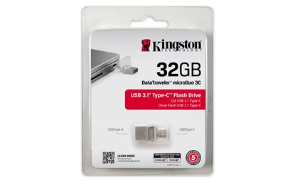 Immagine di Flash Pen Kingston DataTraveler microDuo Type-C DTDUO3C/32GB
