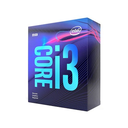 "Immagine di Intel Core i3-9100F (no Vga)  ""Prodotto vendibile solo all'interno di un pc completo"""