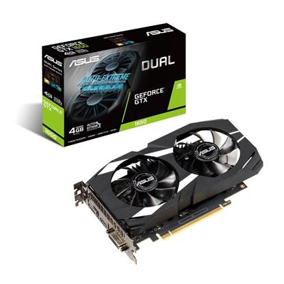 Immagine di Asus GeForce GTX1650 DUAL-GTX1650-4G - VGA NVidia GTX1650 4GB
