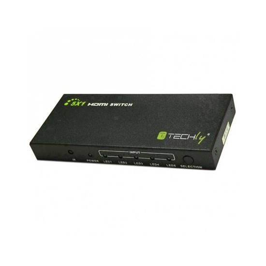 Immagine di Switch HDMI 5 ingressi 1 uscita - IDATA HDMI-4K51