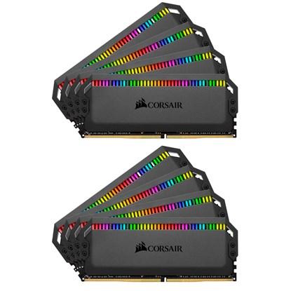 Immagine di Corsair Dominator Platinum RGB CMT128GX4M8X3200C16 - DDR4 128GB (8x16GB)
