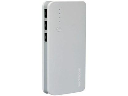 Immagine di Mediacom Powerbank 15000 mAh White - M-PB150WS